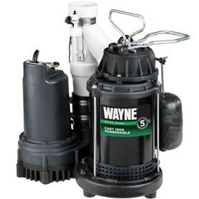 Wayne Preassembled - Thermoplastic Back-Up Pump & Epoxy Coated Housing WSS30V