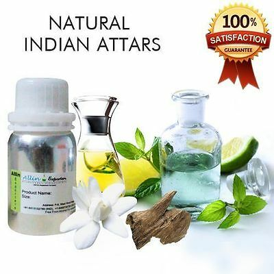 100% Pure & Natural Indian Attars - Undiluted Perfume Oil -  15 ML & 30 ML
