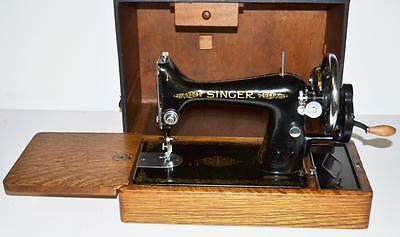 1930's Singer 99 Hand Crank Sewing Machine - FREE Delivery [PL2062]