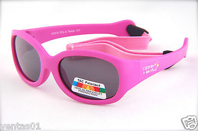 Baby Polarized Sunglasses Lightweight & Flexible Design With Headstrap KR518POL