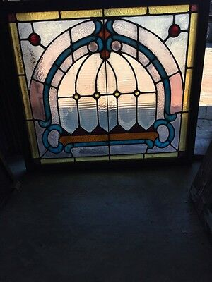 Sg 784 Antique Pastel Window With Round Jewels