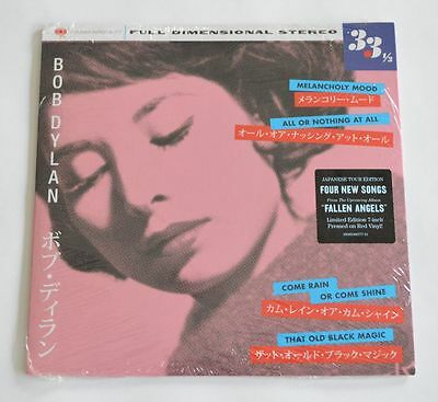 """Bob Dylan Melancholy Mood 7"""" Red Vinyl Record Store Day 2016 New Sealed"""
