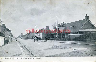 Printed Postcard Of The Main Street Ballywater, County Wexford, Republic Ireland