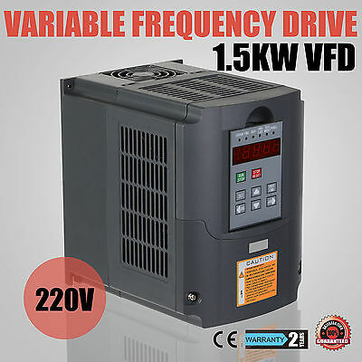 1,5KW 2HP Frequenzumrichter Variable Frequency Driver Low-Output VFD new