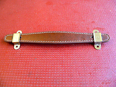 Brown Stitched Leather Handle fits Fender Champ Deluxe Bassman guitar amplifier
