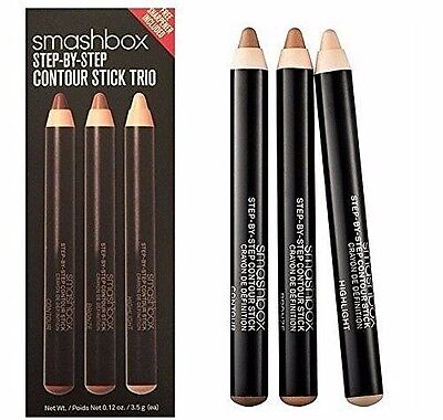 Smashbox Step-By-Step Contour Stick Trio - NIB