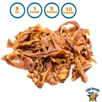 Pig Ears Strips for Dogs | 100% Natural Bulk Ears Dog Chews from 123 Treats