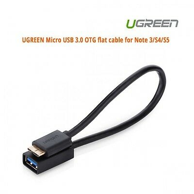 UGREEN Micro USB 3.0 OTG flat cable for Note 3/ S4/ S5 ACBUGN10801