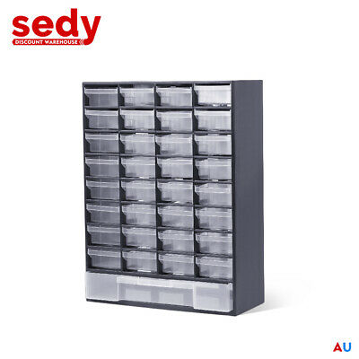 41 Drawers Storage Cabinet Tool Box Chest Case Plastic Organizer Toolbox Bin