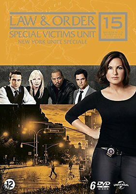 Law And Order :Special Victims Unit - Season 15   - PAL Region 2 DVD sealed
