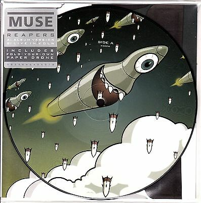 """7"""" picture MUSE reapers RECORD STORE DAY 2016 RSD ltd SEALED"""