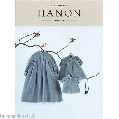 HANON - DOLL SEWING BOOK  Blythe Outfit Clothes Patterns Japanese / English New