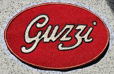 GUZZI IRON ON PATCH Aufnäher Parche brodé patche toppa Moto California Griso