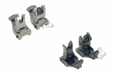 Polymer Folding 71L Set Arms Front & Rear Flip-UP Back-UP Tactical Sights Sights
