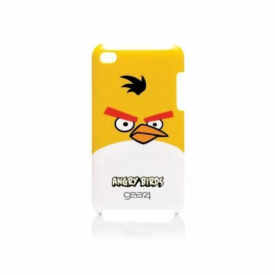 Gear4 Angry Birds Hard Shell Case Cover For Ipod Touch 4G - Yellow Bird