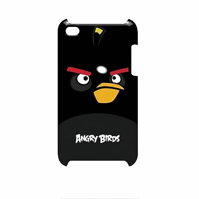 Gear4 Angry Birds Hard Shell Clip-On Case Cover For Ipod Touch 4G - Black Bomber