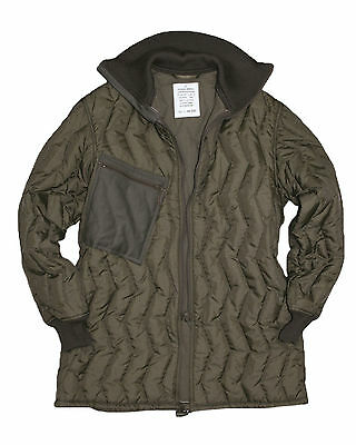 New Genuine German Army Issue Surplus Quilted Cold Weather Jacket Liner