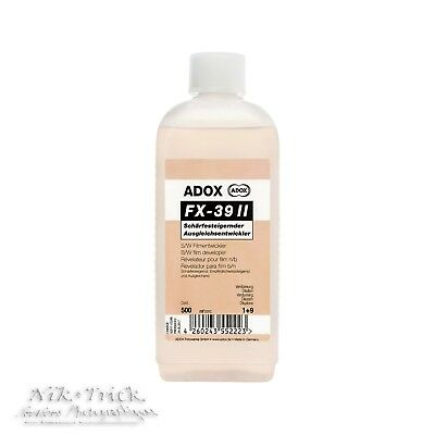 Adox FX-39 II 500ml Concentrate ~ Ideal Developer for Detail ~ Latest Formula!