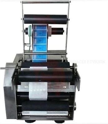 Mt-50 Semi-Automatic Round Bottle Printing Labeler Labeling Machine 110V New Y D