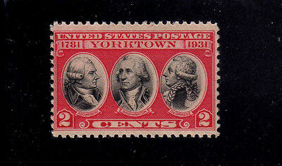 ESTADOS UNIDOS/USA 1931 MNH SC.703 Surrender of Yorktown