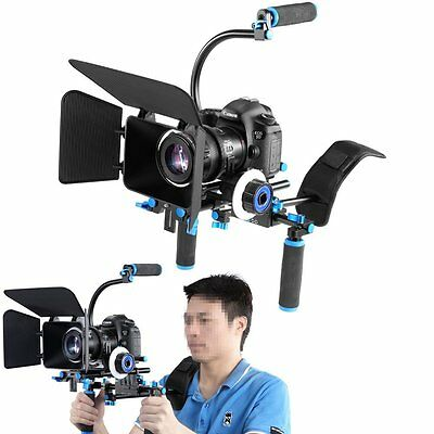 Neewer DSLR Rig Set Movie Kit Film Making System for All DSLR and Video Cameras