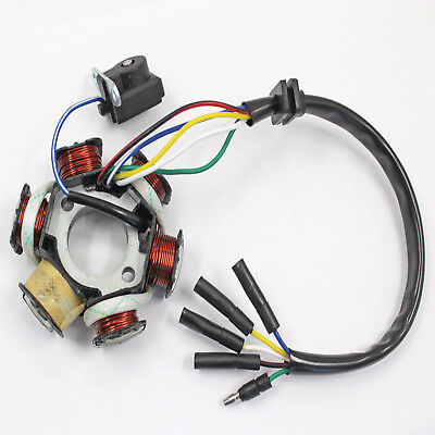 STATOR MAGNETO PLATE 50cc 70cc 110cc Electric Start Pit Dirt Quad Trial Bike