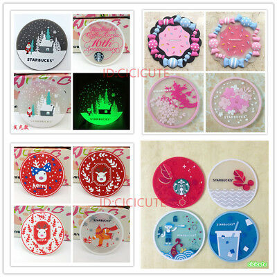 2018 Sakura Starbucks Coffee Coaster Rubber Collectibles Souvenirs Mug Cup Mat