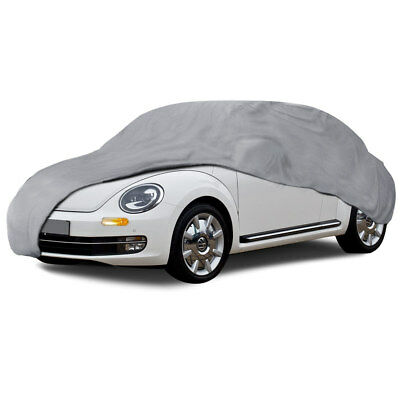 Car Cover for Classic Beetle Waterproof All Weather Breathable Fit 4 Layers