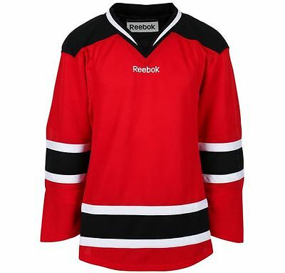 NEW New Jersey Devils Edge   jersey RED size - SENIOR