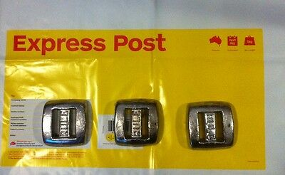 3x1.6kg Dive Weights Postage Included