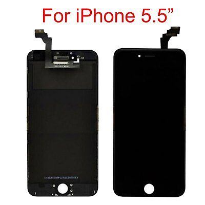 Replacement For iPhone 6 Plus Black LCD Display Touch Screen Digitizer Assembly