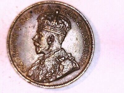 CANADA 1919 One Large cent Geo V about UNC