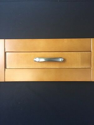 Satin Nickel Decorative Drawer / Cabinet Pull Handles