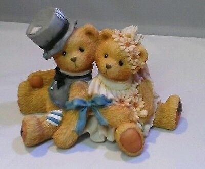"Cherished Teddies Robbie & Rachael ""love Bears All Things"" 911402"