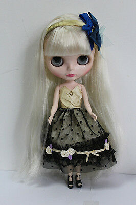 """Takara 12/"""" Neo Blythe Doll Noble Factory Nude Doll  #TD002+stand"""