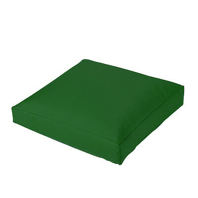 Green Jumbo Large Waterproof Outdoor Cushion Chair Seat Cover Pads Plush Pillow