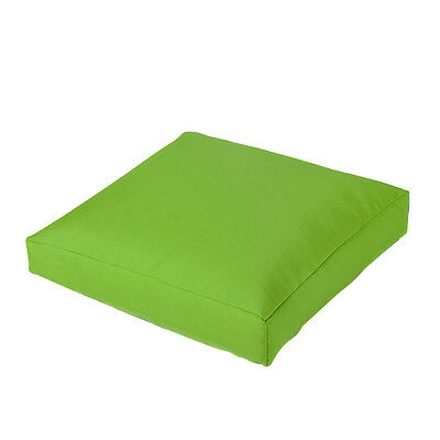 Lime Jumbo Large Waterproof Outdoor Cushion Chair Seat Cover Pads Plush Pillow