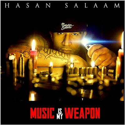 Hasan Salaam-Music Is My Weapon  (US IMPORT)  CD NEW
