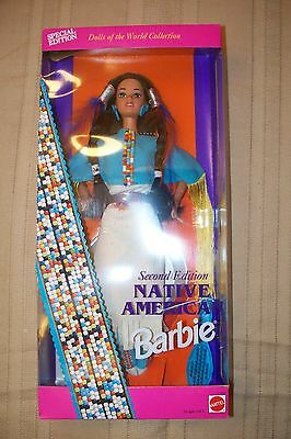 1993 Native American Barbie Special Second Edition NIB Dolls of the World