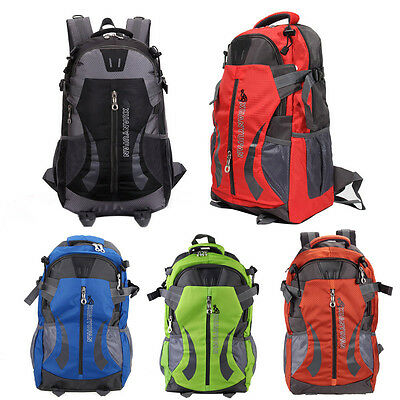 Outdoor Travel Sport Rucksack Camping School Satchel Laptop Hiking Bag Backpack