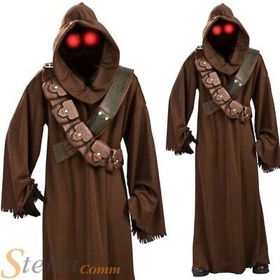 Hommes Jawa Star Wars Sous Licence Halloween Adulte Costume Déguisement