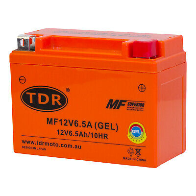 12V 6.5AH Gel Battery for Motorcycle Dirt Bike ATV Quad Scooter Gokart Mower