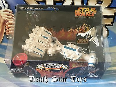 Star Wars Revenge Of The Sith Mustufar Duel Battle Set Tantive IV Shuttle ROTS