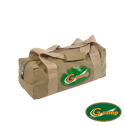 G Camp Canvas Bag Carry Travel Tent Peg Guy Rope Camping Trailer 4Wd Stove 12L