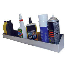 """Sp12at Tow-Rax Aerosol Utility Tray For Up To 12 Cans, Aluminum 4""""H X 4""""W X 33-1"""
