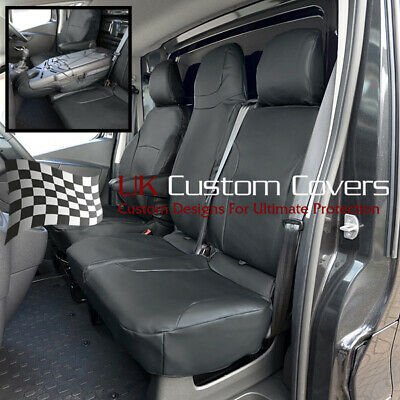 Renault Trafic Sport Business + 2014 On Leatherette Front Seat Covers 178