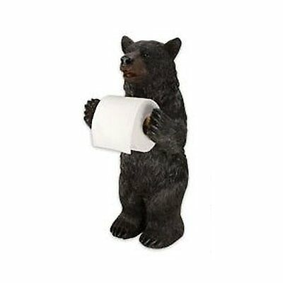 Rivers Edge Products Standing Bear Toilet Paper Holder new free shipp
