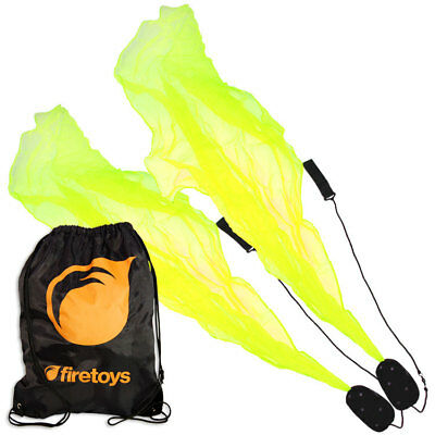 UV Yellow (Green) Pyropixies Beginner Spiral Poi & Firetoys Tote Bag