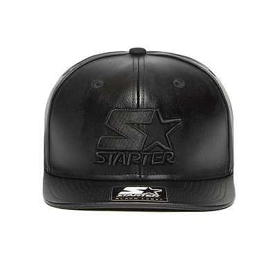 Starter Leather Black Label Cap