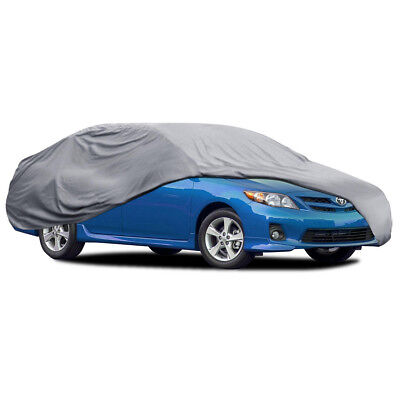 Car Cover for Toyota Corolla Waterproof 4 Layers Sun Dust Proof Breathable
